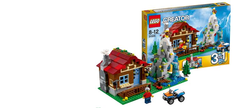 Bergen LEGO, nu met berghut