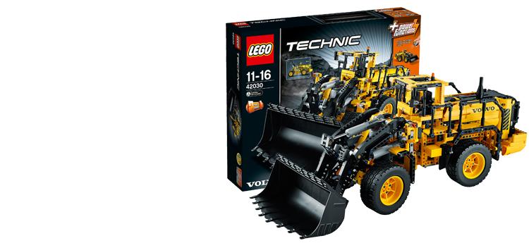 Dit is de nieuwe LEGO 42030 set. De Prachtige Volvo L350F