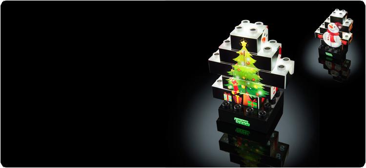Nu ook LIGHT STAX kerstset
