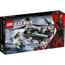 LEGO 76162 Black Widow's helikopterachtervolging