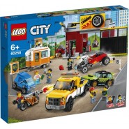 LEGO 60258 Tuningworkshop