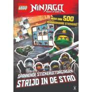 LEGO NINJAGO Spannende stickeruitdagingen STRIJD IN DE STAD