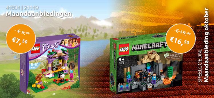 LEGO maandaanbiedingen oktober