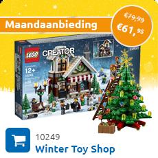 Maandaanbieding LEGO 10249 Friends Adventkalender