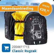 Maandaanbieding Classic minifiguur Rugzak