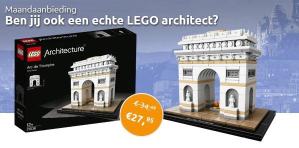 LEGO 21036 Maandaanbieding