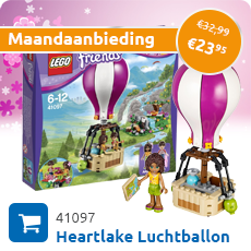 Maandaanbieding LEGO 41097 Heartlake luchtballon