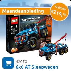 Maandaanbieding LEGO 42070 6x6 AT Sleepwagen