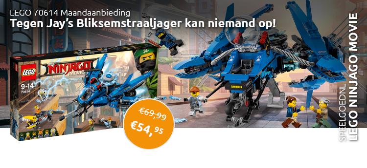LEGO 70614 maandaanbieding
