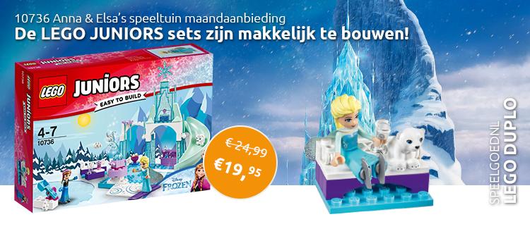 LEGO 10736 Anna en Elsa's Speeltuin