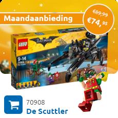 Maandaanbieding LEGO 70908 De Scuttler