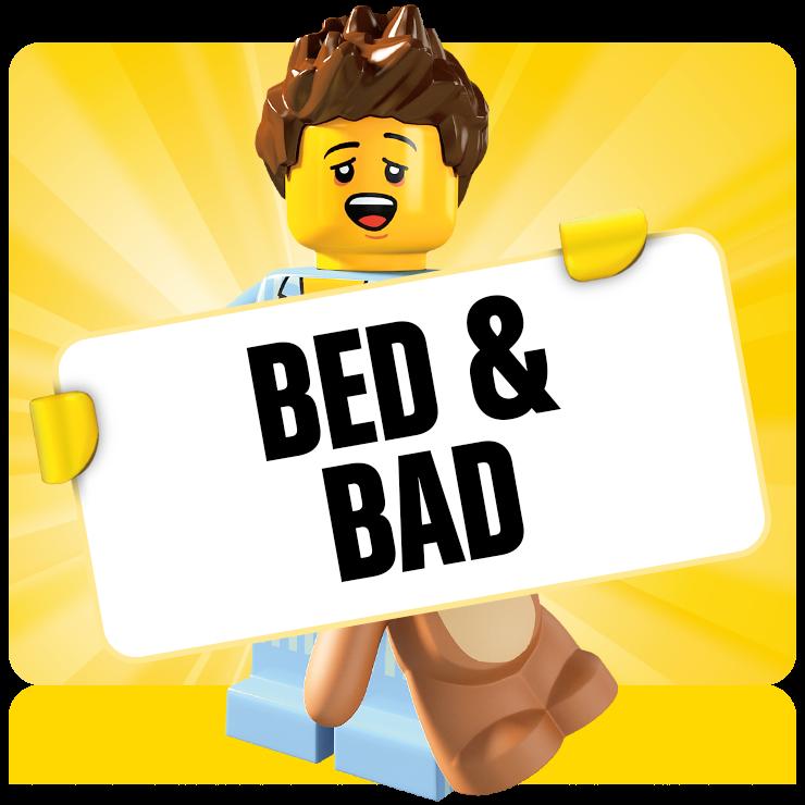 LEGO bed en bad producten