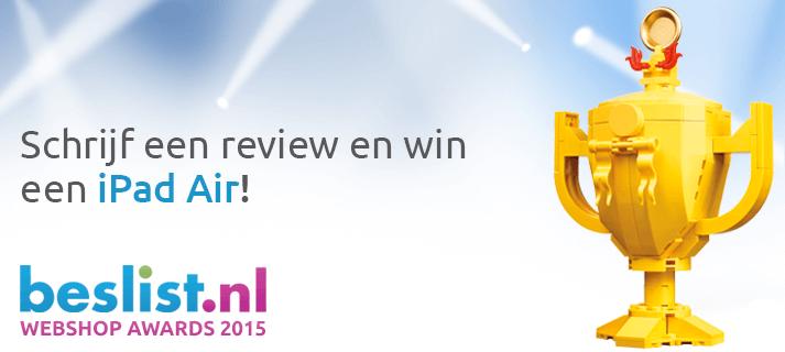 Beslist.nl Webshop Award 2015