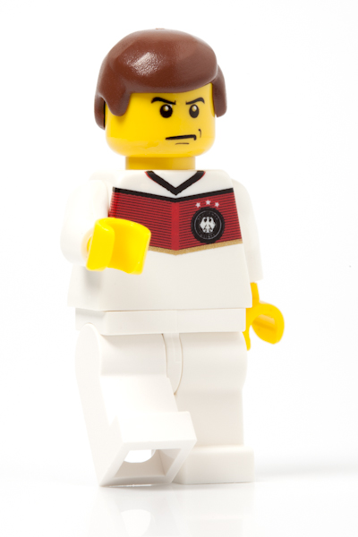 LEGO minifiguur team Duitsland