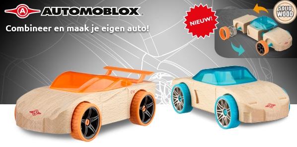 Combineer en maak je eigen auto!