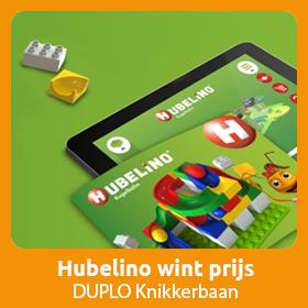 Hubelino wint prijs voor Educatief speelgoed