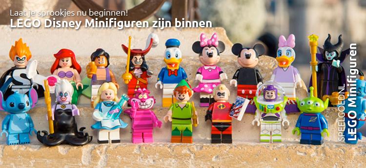 LEGO Disney Minifiguren