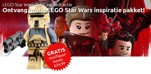 LEGO Star Wars The Last Jedi actie
