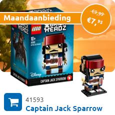Maandaanbieding LEGO 41593 Captain Jack Sparrow