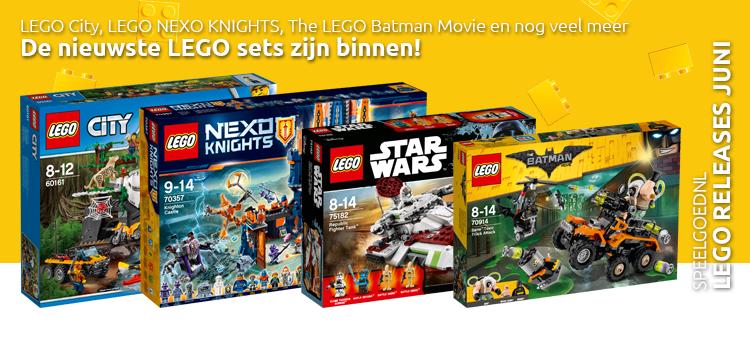 LEGO releases juni 2017