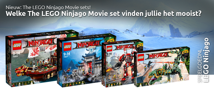 Ninjago movie sets