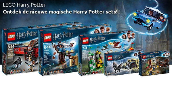 Nieuwe Lego Harry Potter sets!