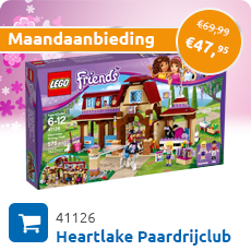 Maandaanbieding LEGO 41126 Heartlake Paardrijclub