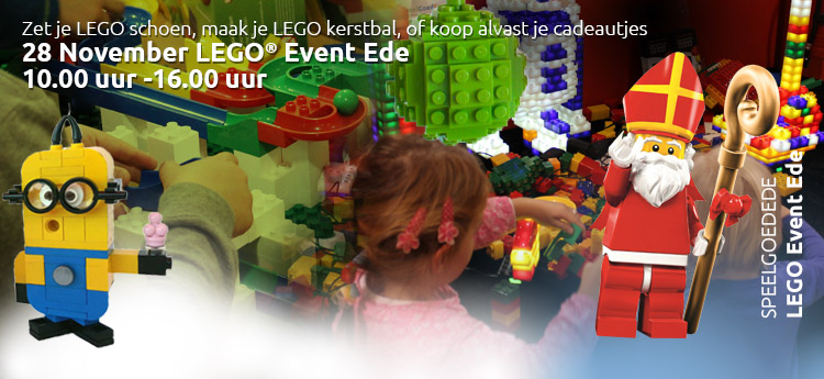 LEGO Event Ede 28 november