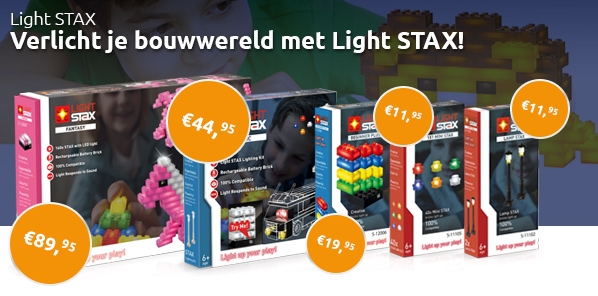 Nieuwe Light STAX sets