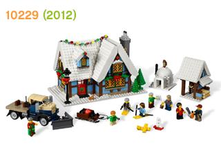 LEGO 10229 Winter Village Vakantiehuis