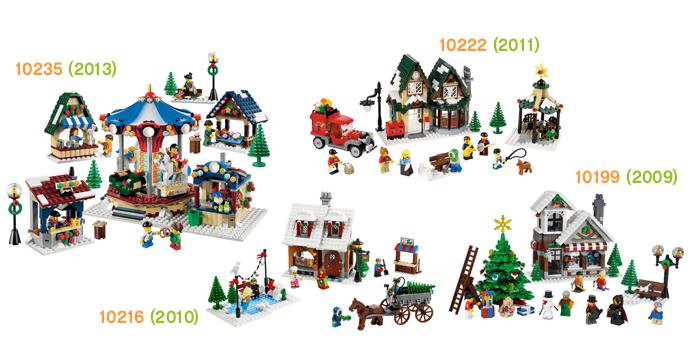 Winter Village Serie bestaat als sinds 2009, nu een nieuwe set