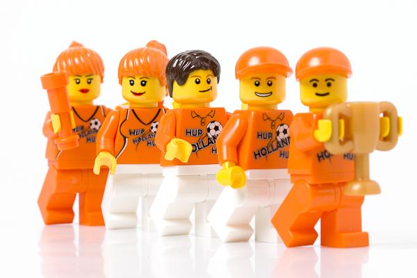 WK LEGO minifiguren