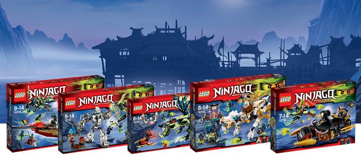 Bestel de nieuwe Ninjago Lego sets bij SpeelGoedNL