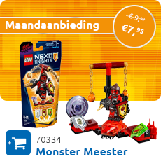Maandaanbieding LEGO 70334 Ultimate Monster Meester