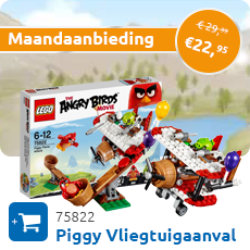 Maandaanbieding LEGO 75822 Piggy Vliegtuigaanval