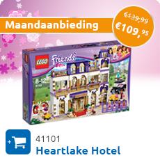 Maandaanbieding LEGO 41101 Heartlake Hotel