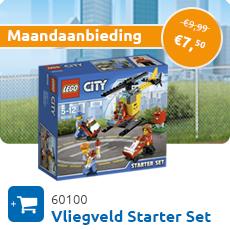 Maandaanbieding LEGO 60100 Vliegveld Starter Set