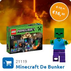Maandaanbieding Minecraft de bunker