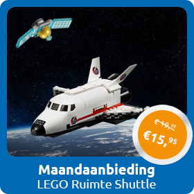 Maandaanbieding september Ruimtevaart Shuttle