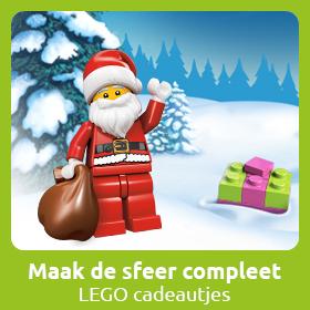 Beleef de magische sfeer van kerst met de LEGO kerst sets!