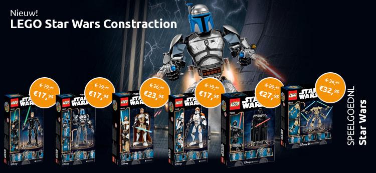 LEGO Star Wars Constraction nu verkrijgbaar