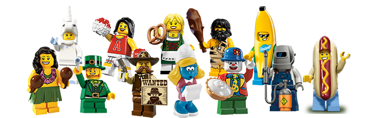 Hedendaags LEGO Minifiguren | Groot assortiment | SpeelGoedNL IY-35