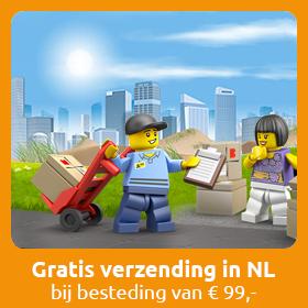 Gratis verzending in Nederlands bij bestelling van 99 euro